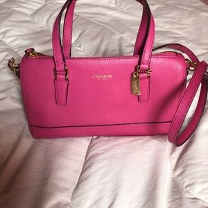 Hot Pink Coach bag